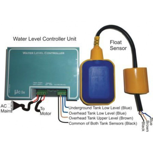 Automatic Water Level Controller - Float Sensor - The Net Shop